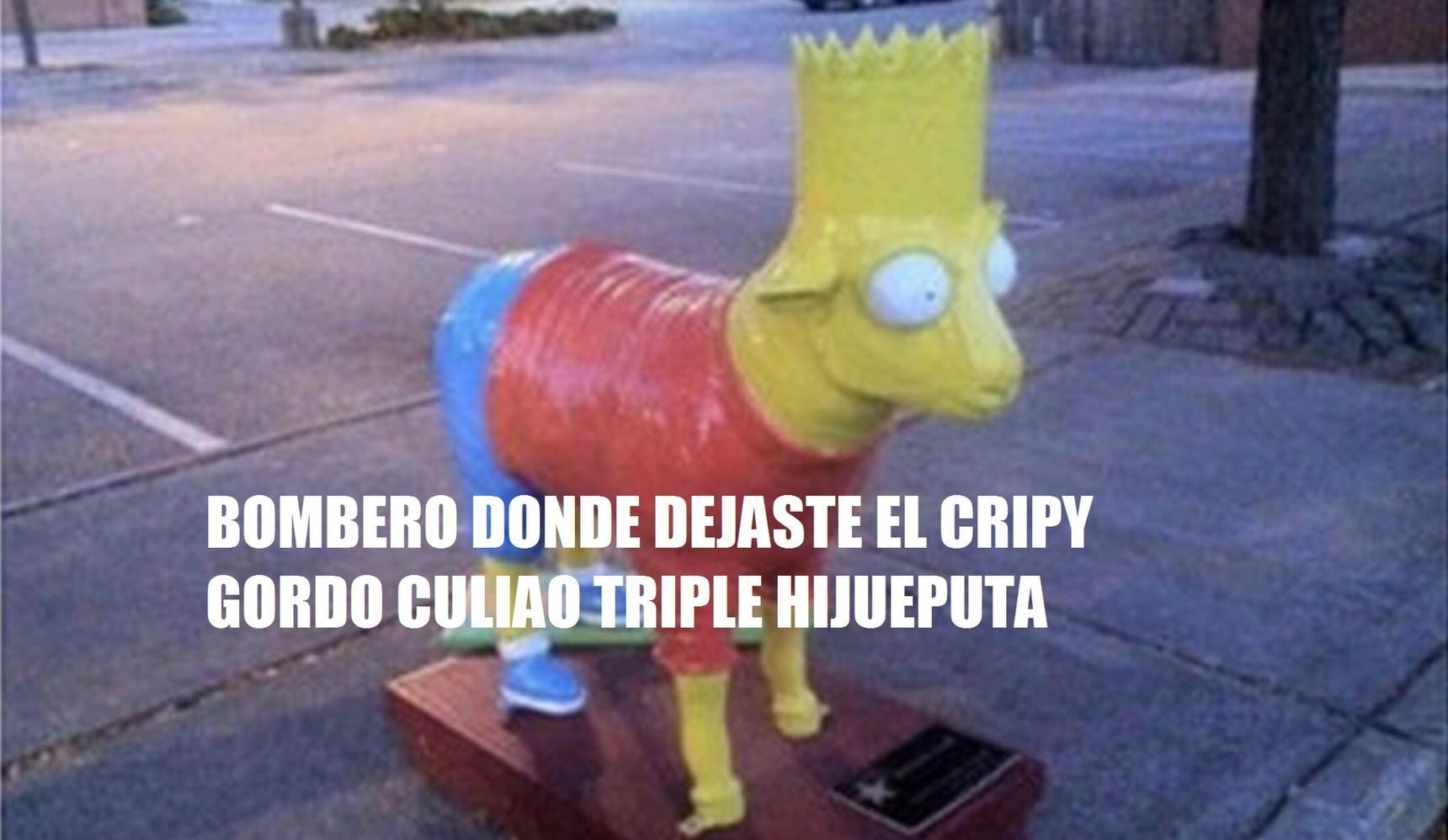 BOMBERO GORDO CULIAO - meme