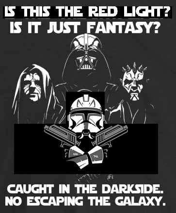 GALACTIC RHAPSODY-Star Warz - Is this the real life-Is this just fantasy-Caught in a landslide, no escape from reality - meme