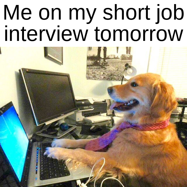 Advice? Is my first job and I'm pretty much guaranteed it - meme