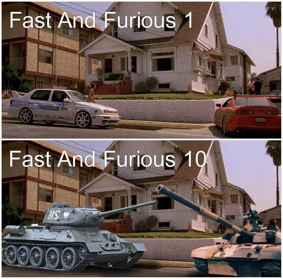 F&F 10 - meme