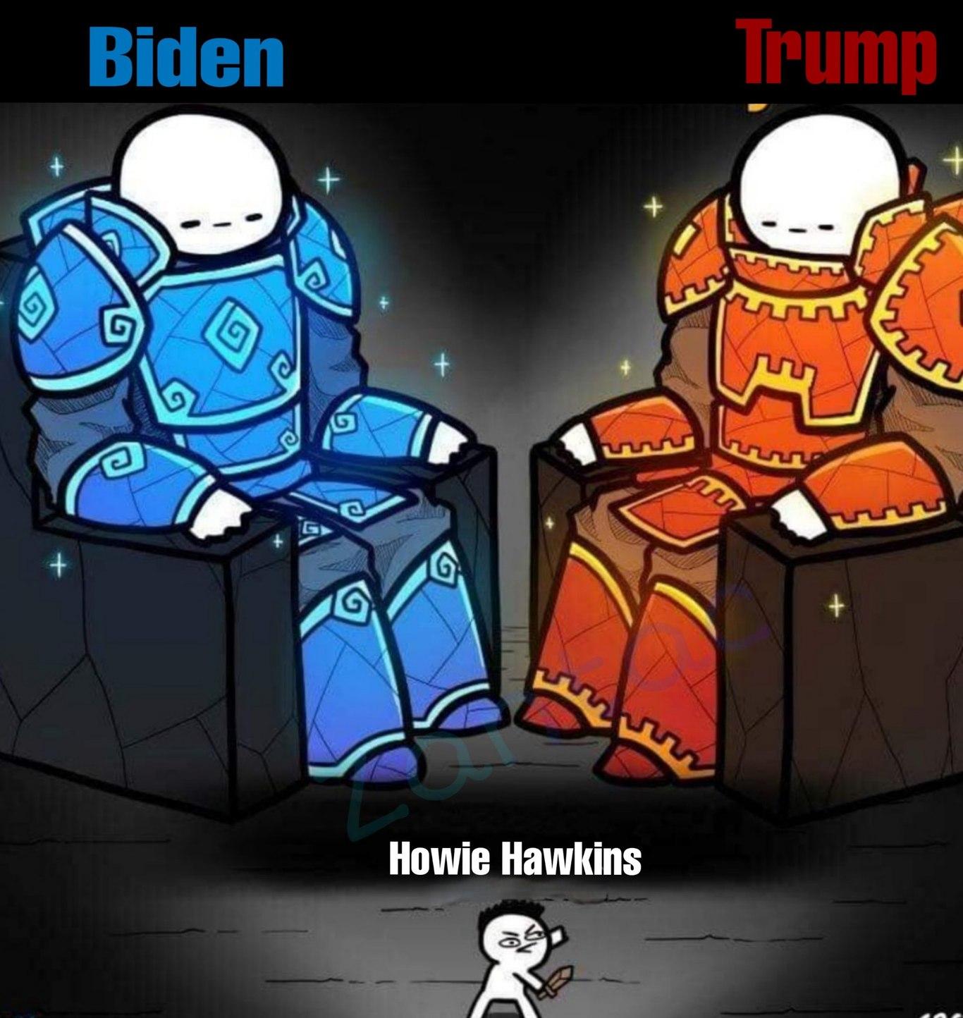 Para el que no lo sepa,son varios candidatos - meme