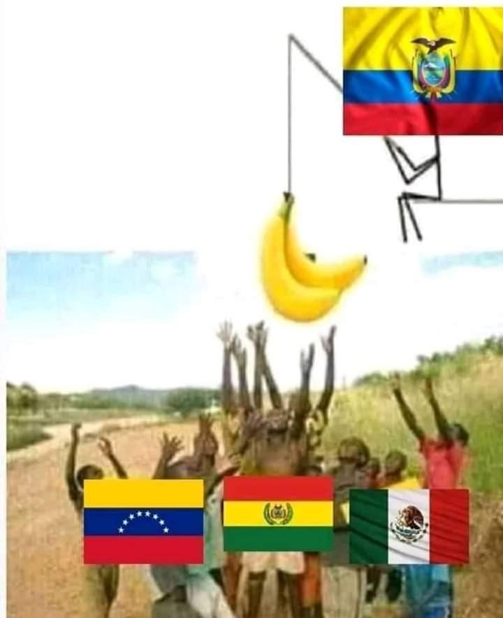 Ecuador le gana xdddd - meme