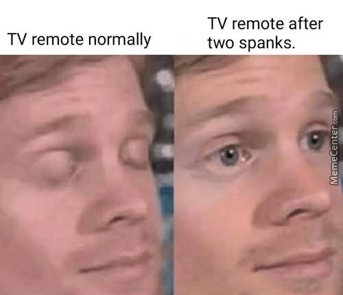 Spanks. - meme