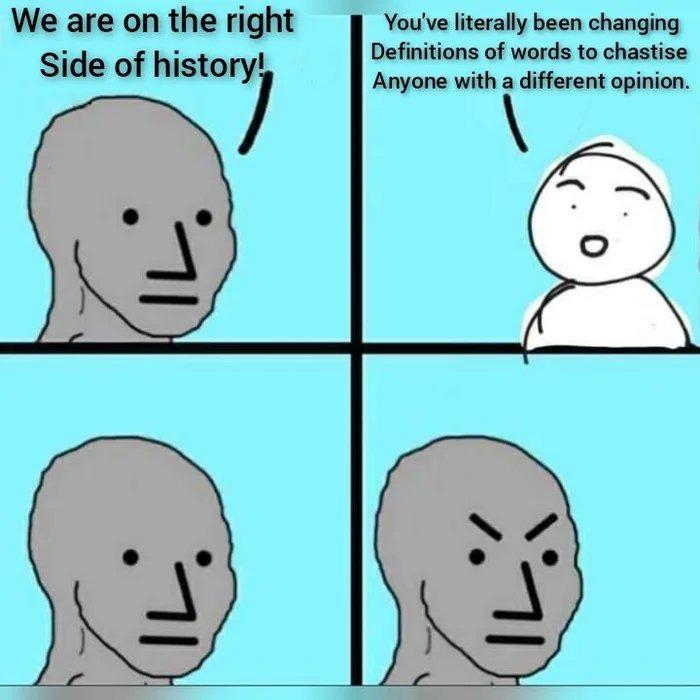 Progress - meme