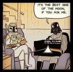The dark side... of the moon - meme