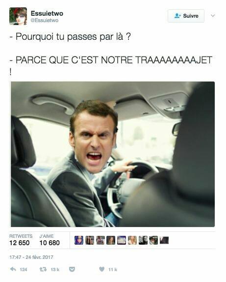 NOTRE TRAJEEEET - meme