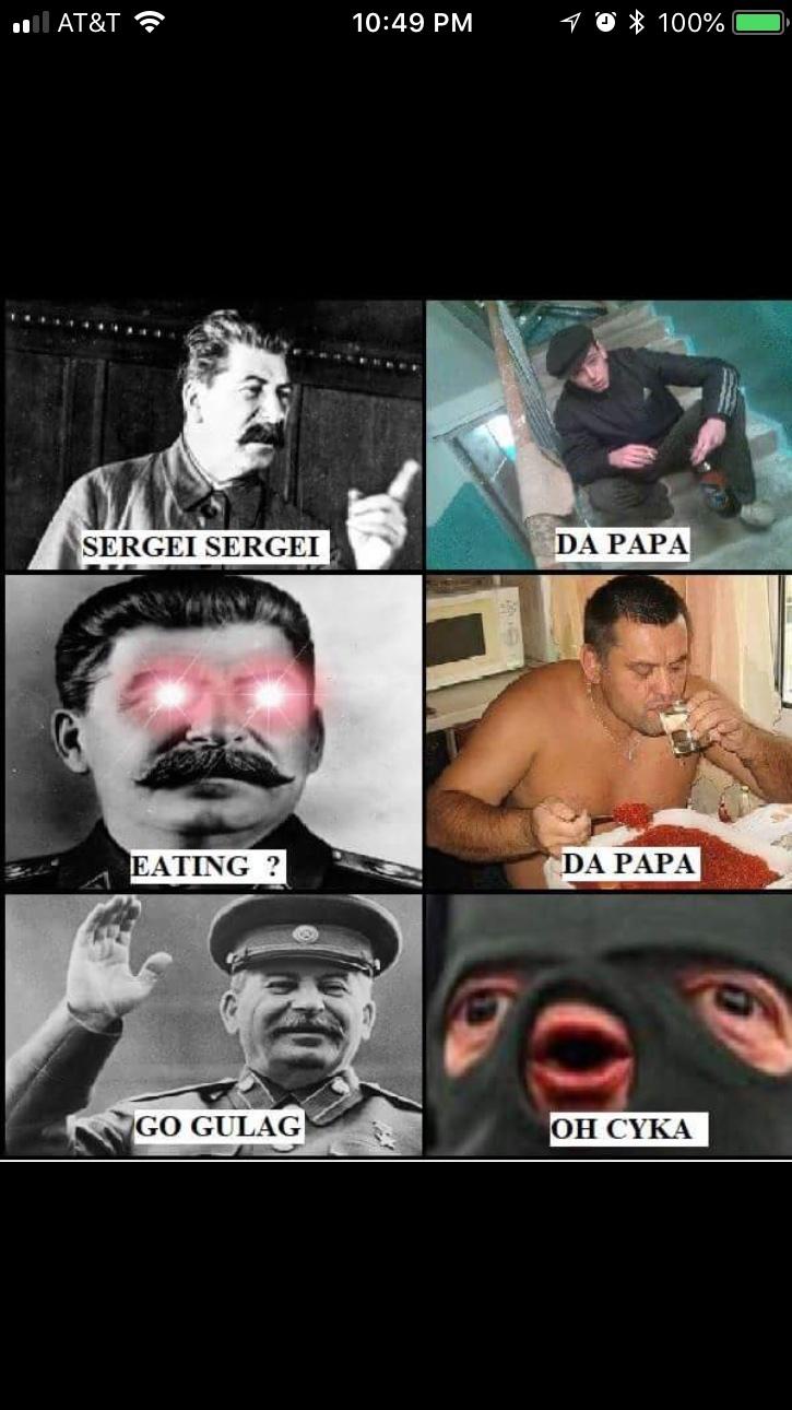 Sergei Sergei! - meme