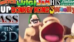 my friend says he love luigi and donky kong this is what i image - meme