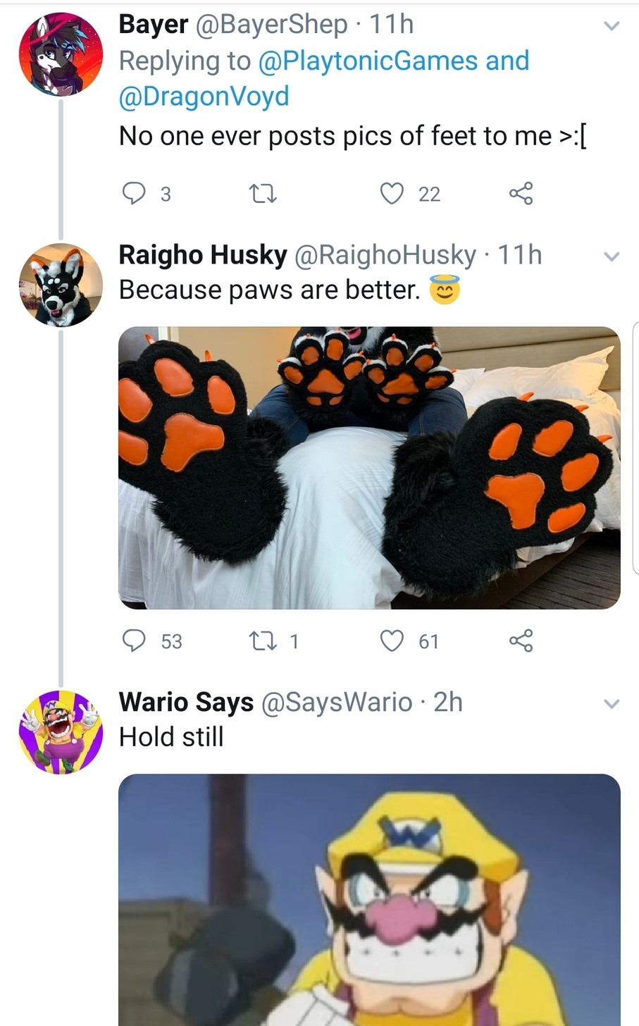 Wario knows what's up - meme