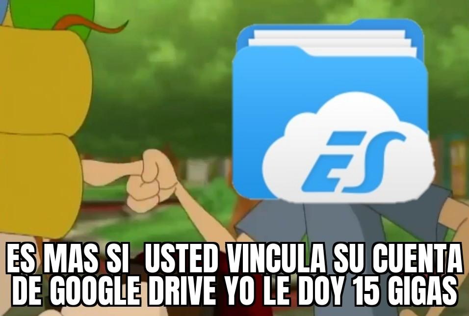 Don ES File Explorer xd - meme