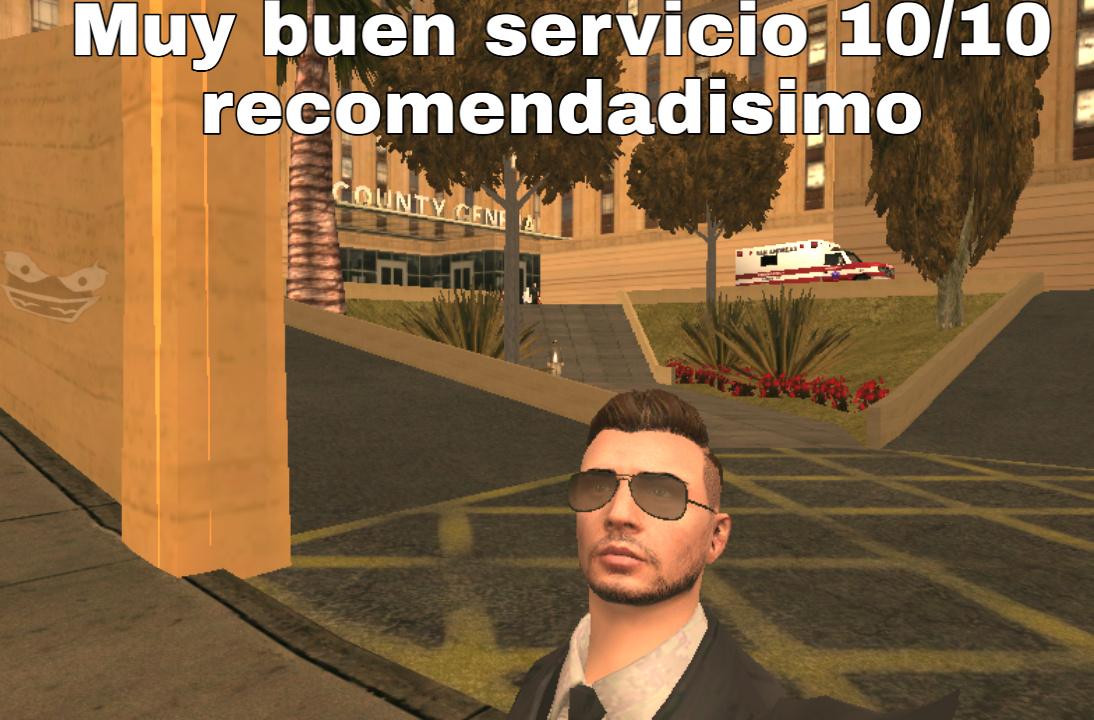 The best hospital, Cj lo recomienda - meme