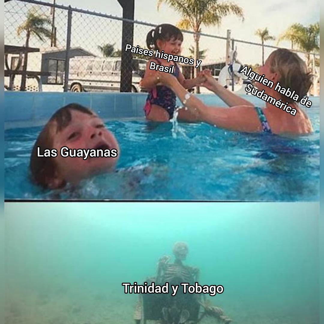 Nadie habla de Trinidad y Tobago :-( - meme
