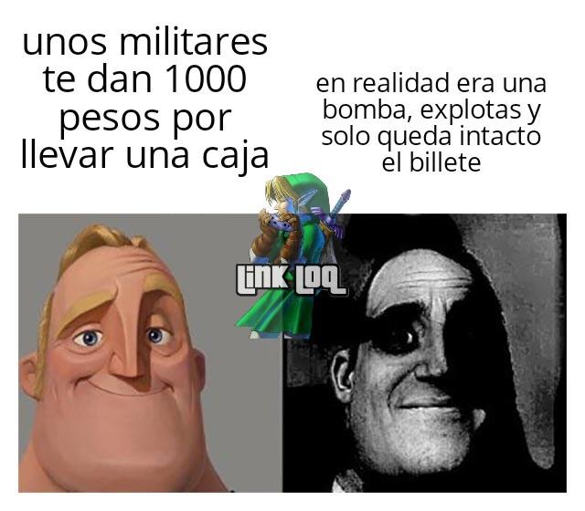 Eran militares con tennis gente :( - meme