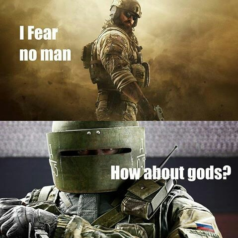 Lord Chanka, Operator of Defense, grace this match with your holy LMG, Mounted and ready, Amen. - meme