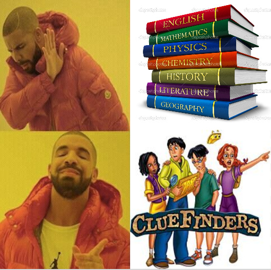 Real Education - meme