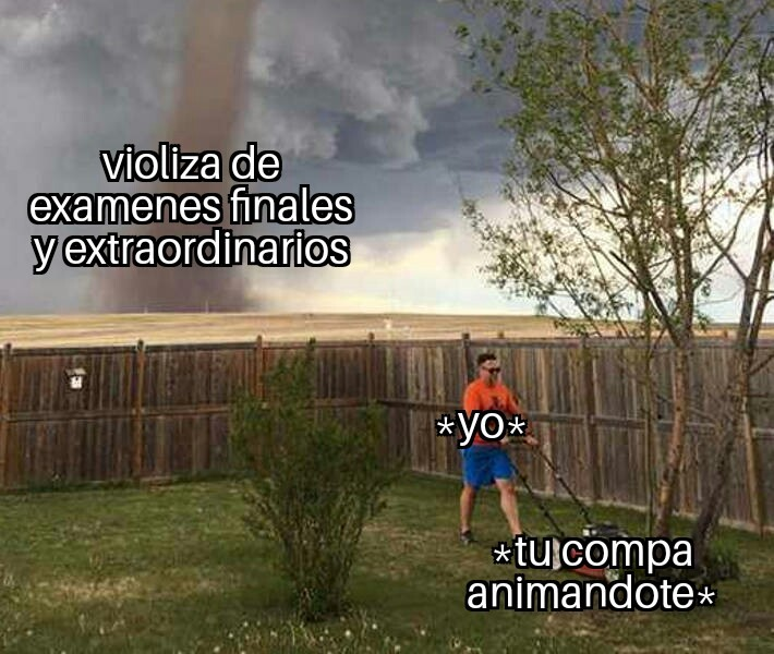 Ahi viene - meme
