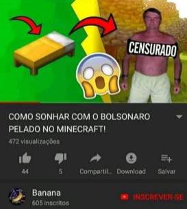minecraft tá foda - meme