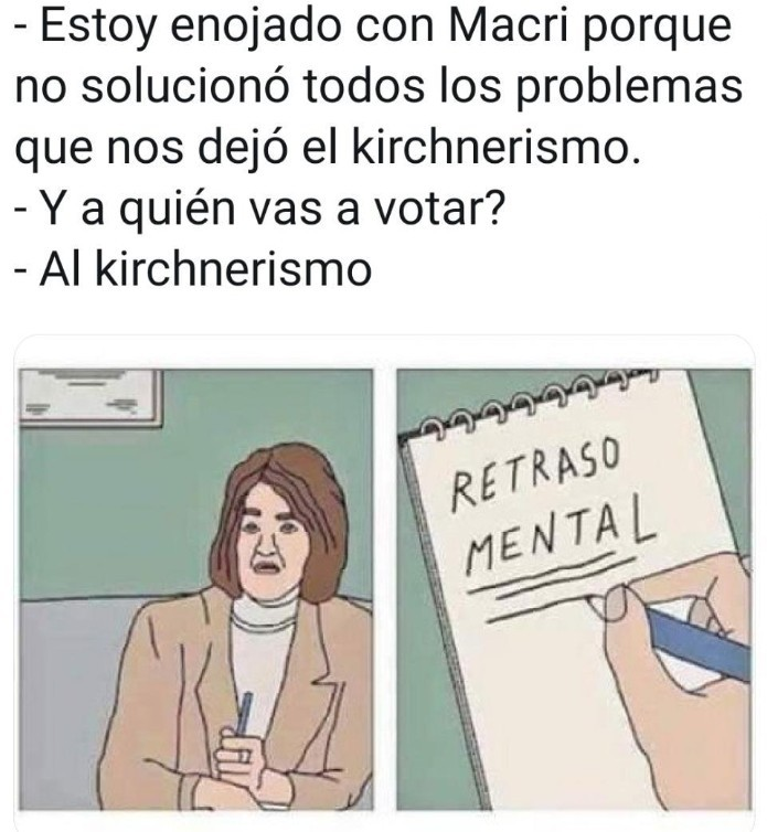Retraso mental - meme