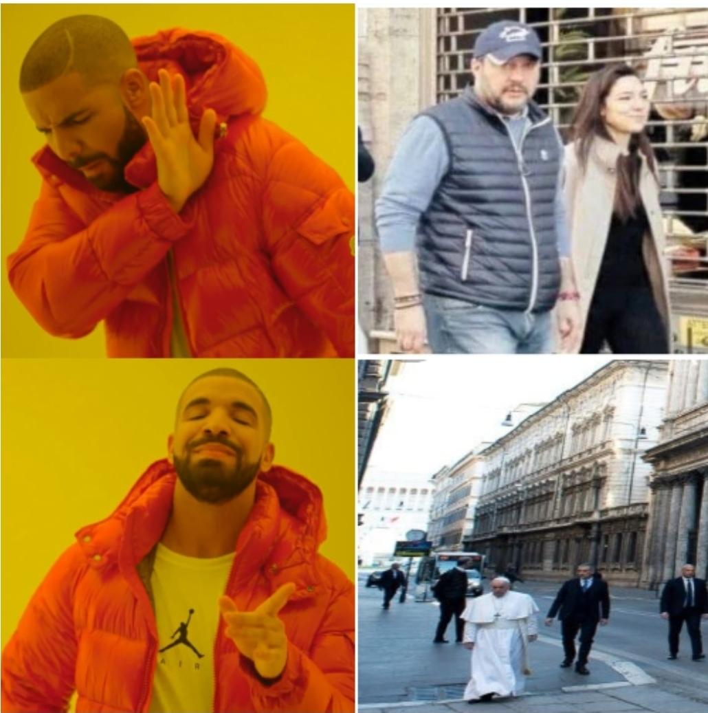 Coronapasseggiata - meme