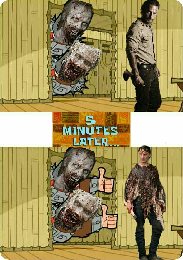 Walkers: Nice. - meme