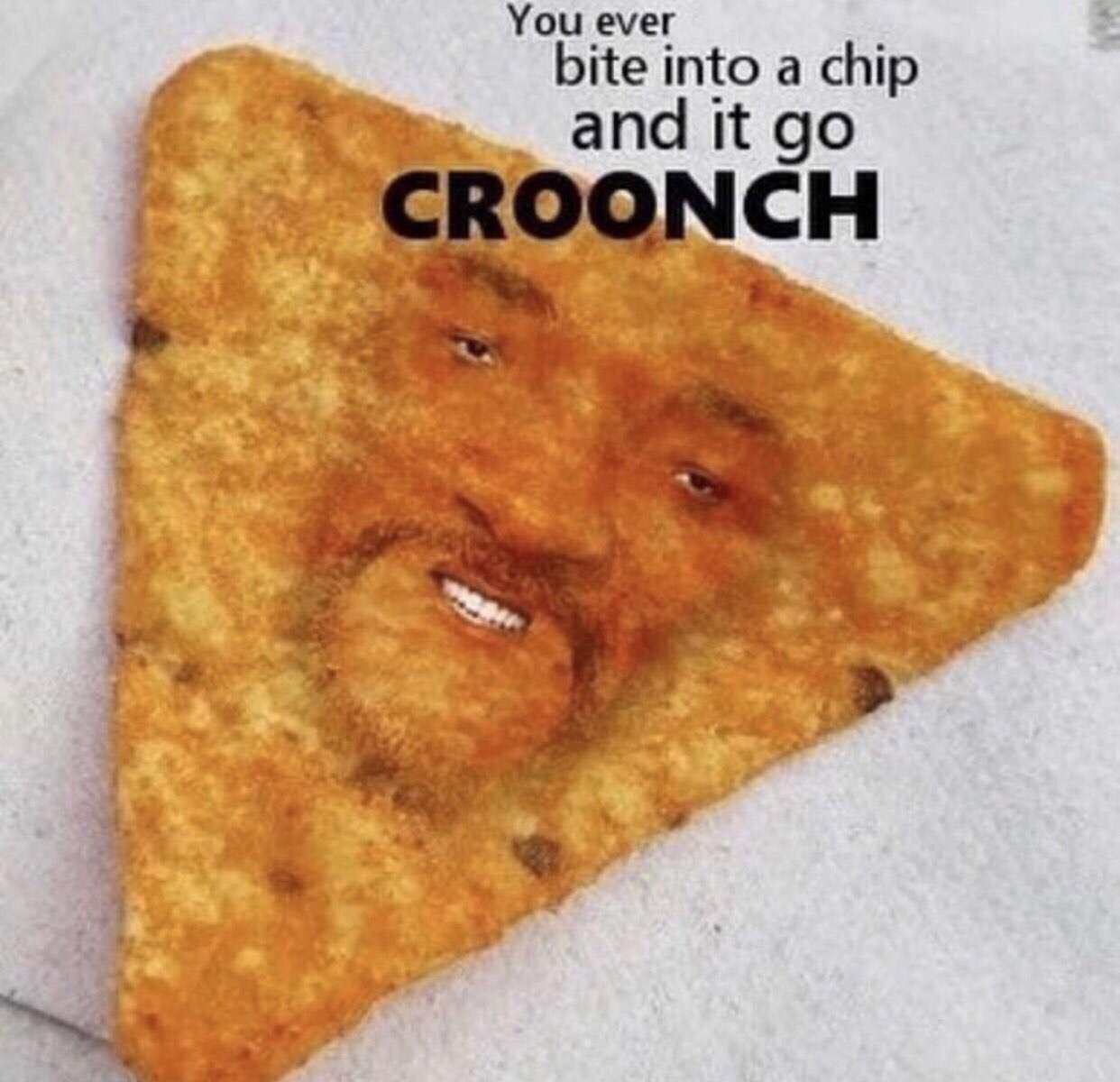 Chip go croonch - meme