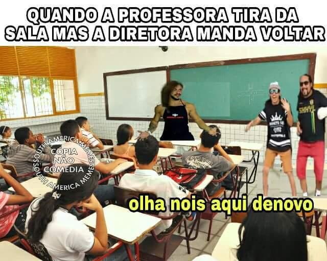 Ué prof - meme