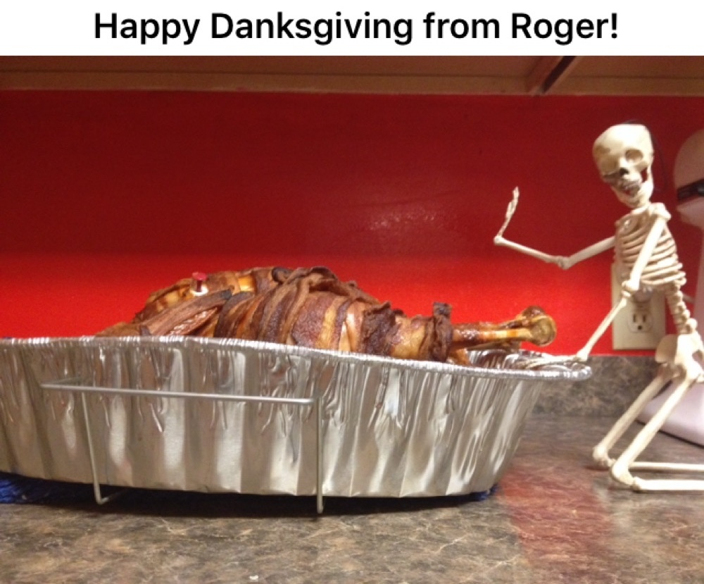 Bacon wrapped turkey :megusta: - meme