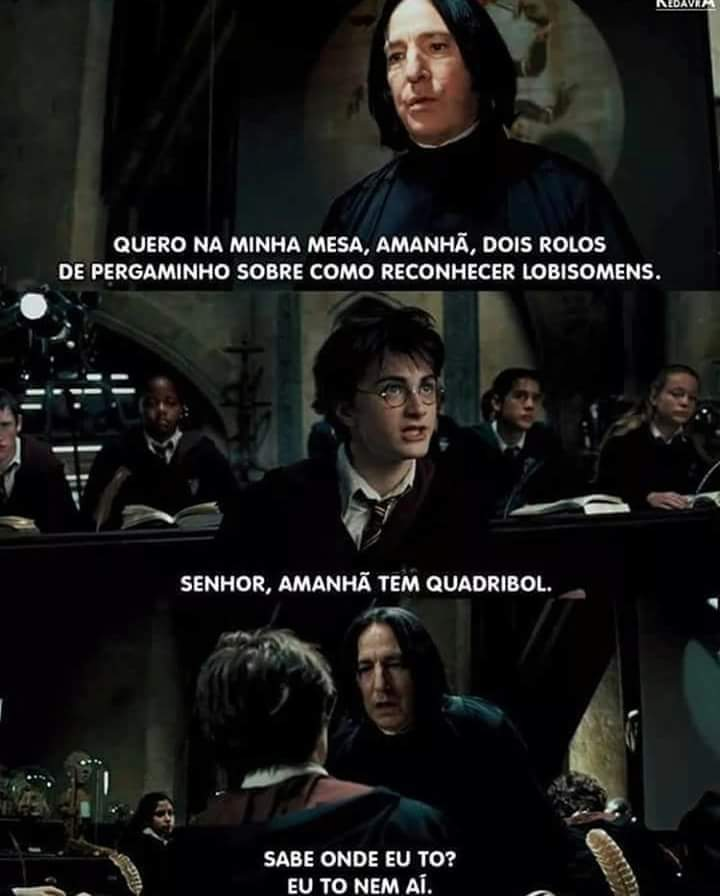 Nossa Snape - meme