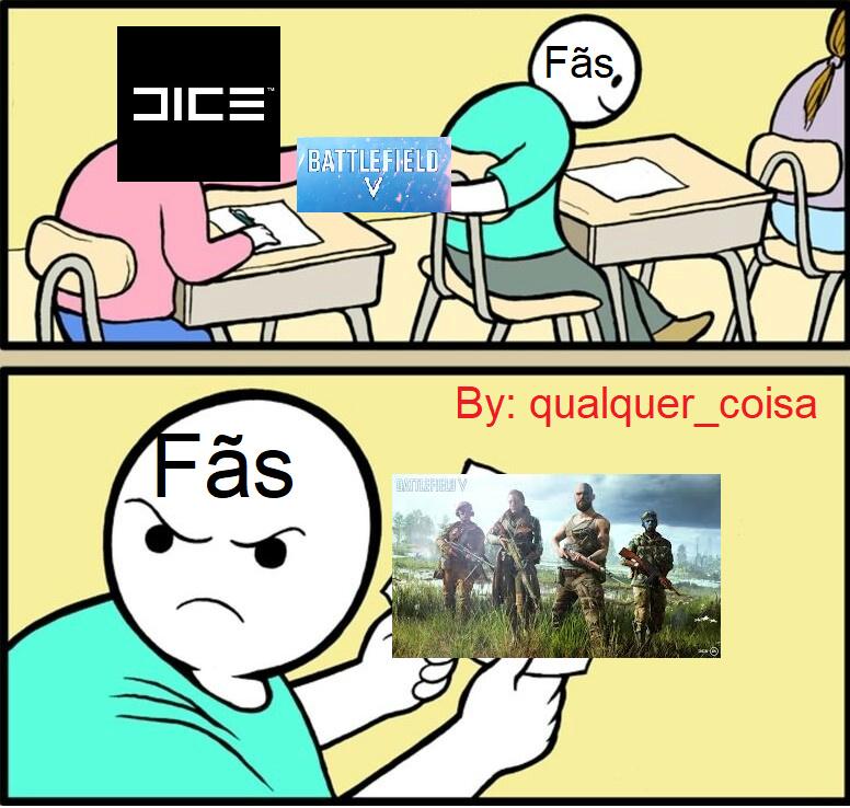 O BF5 está uma bosta - meme