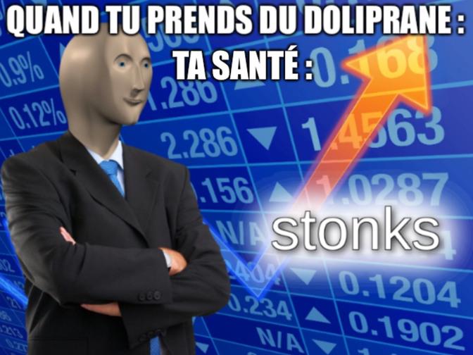 Doliprane - meme