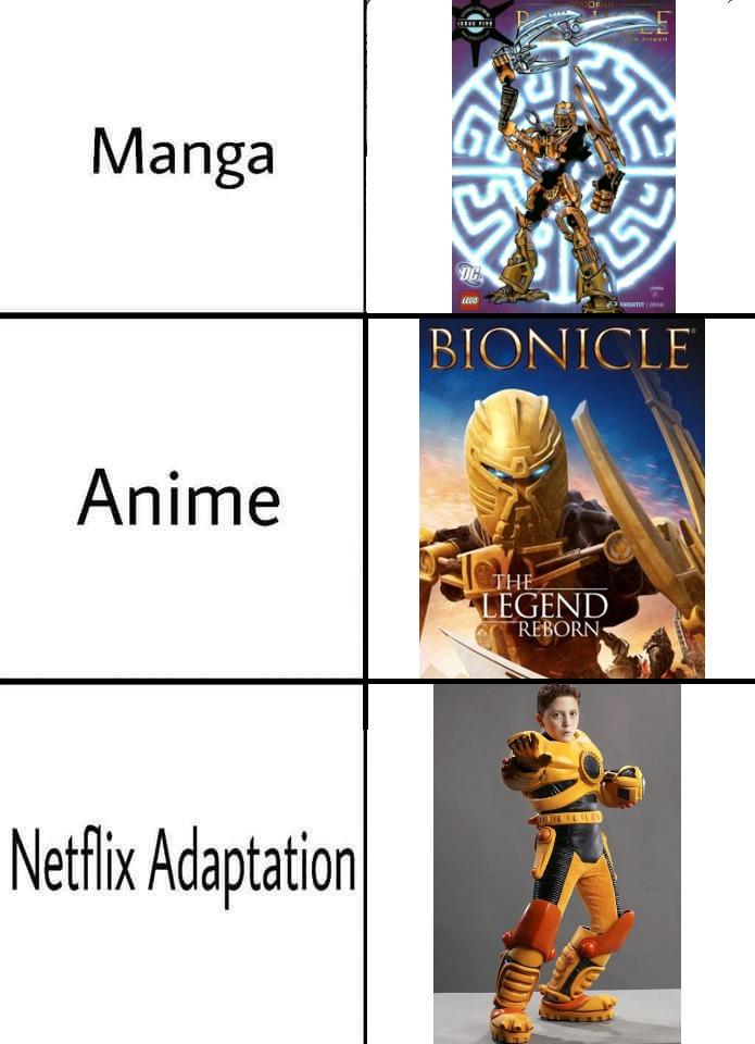 Netflix adaptation - meme