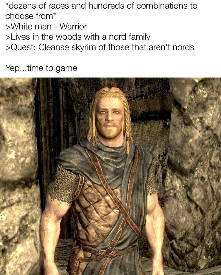 Time to game - meme
