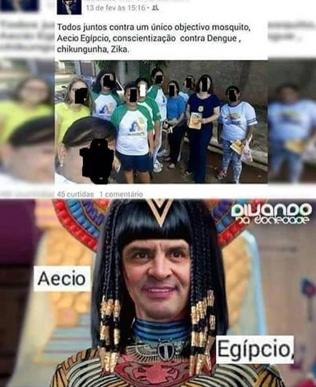 o faraó saiu da tumba - meme
