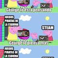 George  gastando su dinero