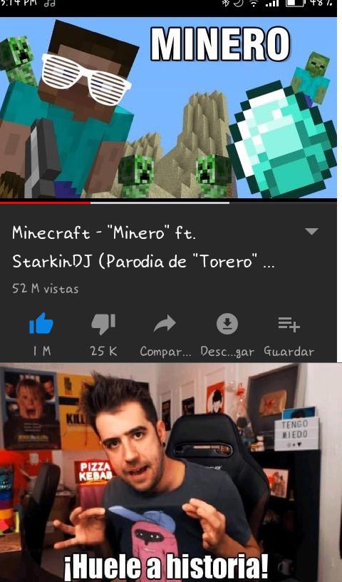 Minero y nostalgia :v - meme