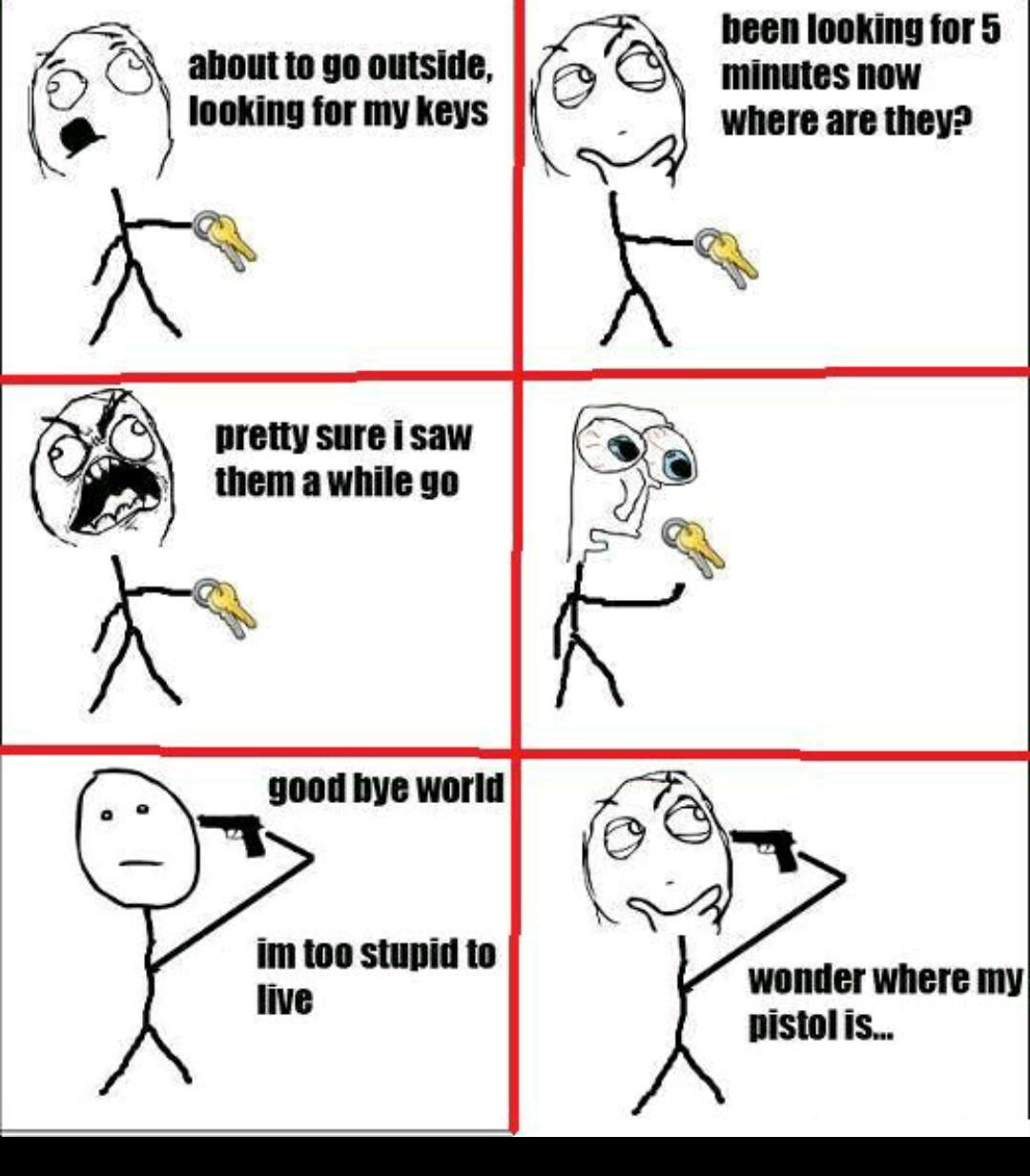 Where did my phone go... - meme