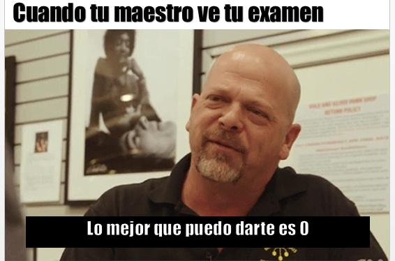 Que dice el maestro Rick - meme