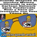 Cartoon Network no aprende