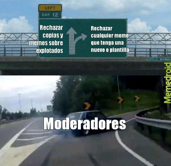 Moderadores - meme