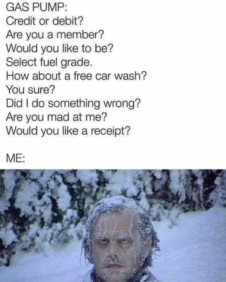 So freaking annoying! Just let me pump! - meme