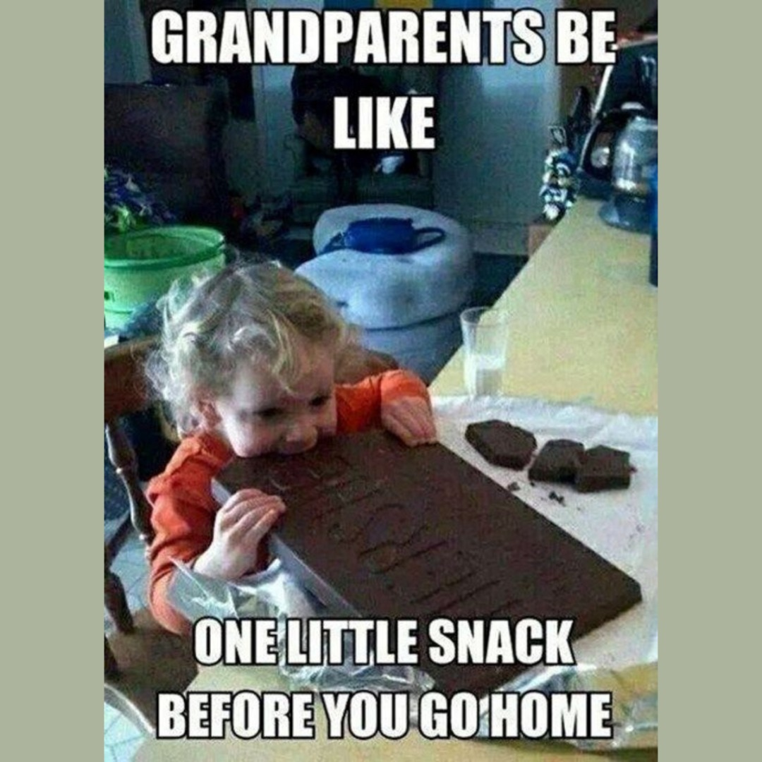 You know your grandma did it - meme