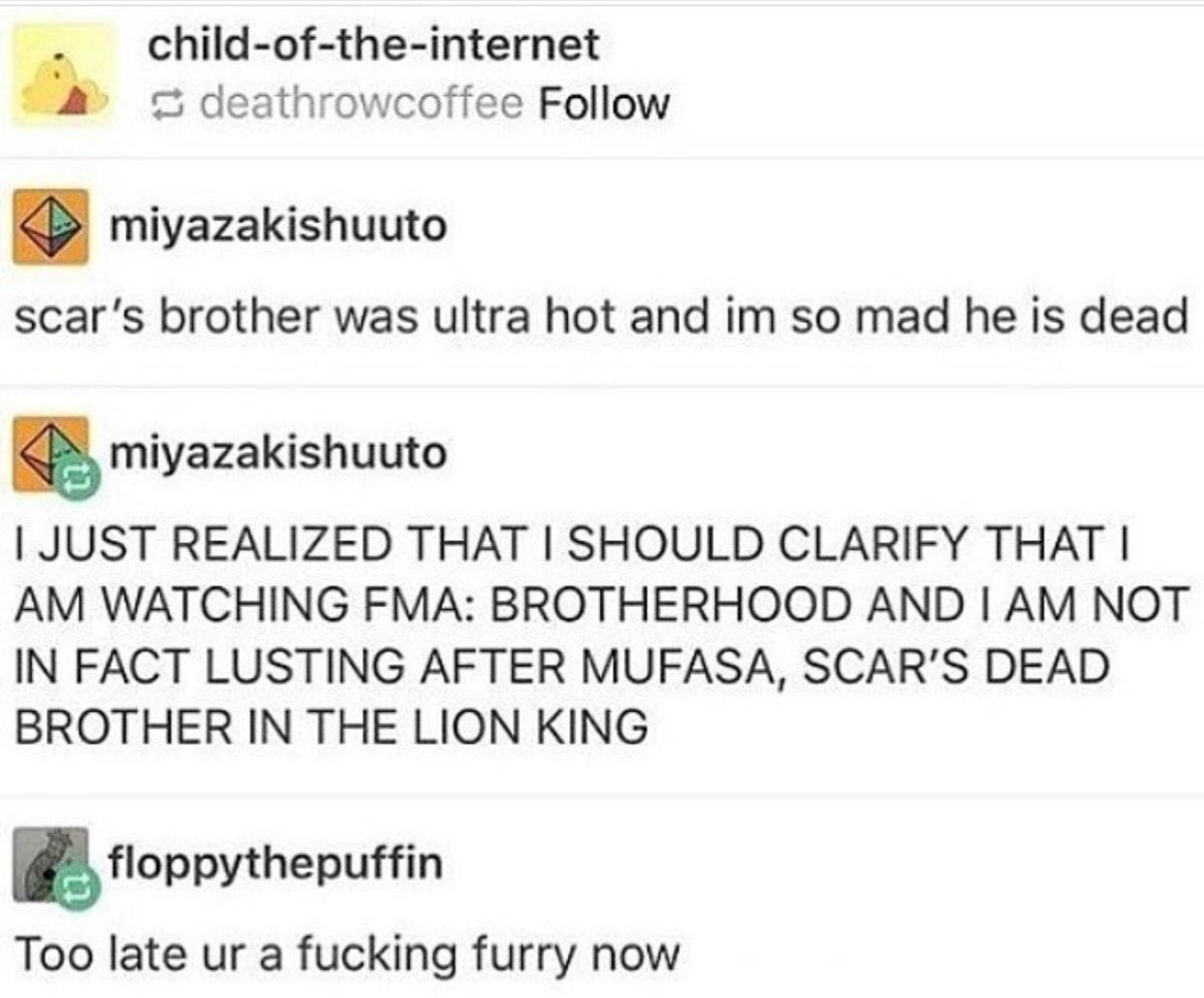 fuckin furry - meme