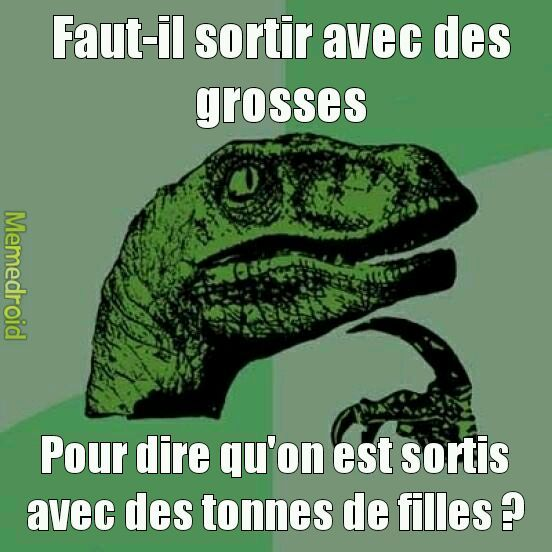 La question existentielle #5 - meme