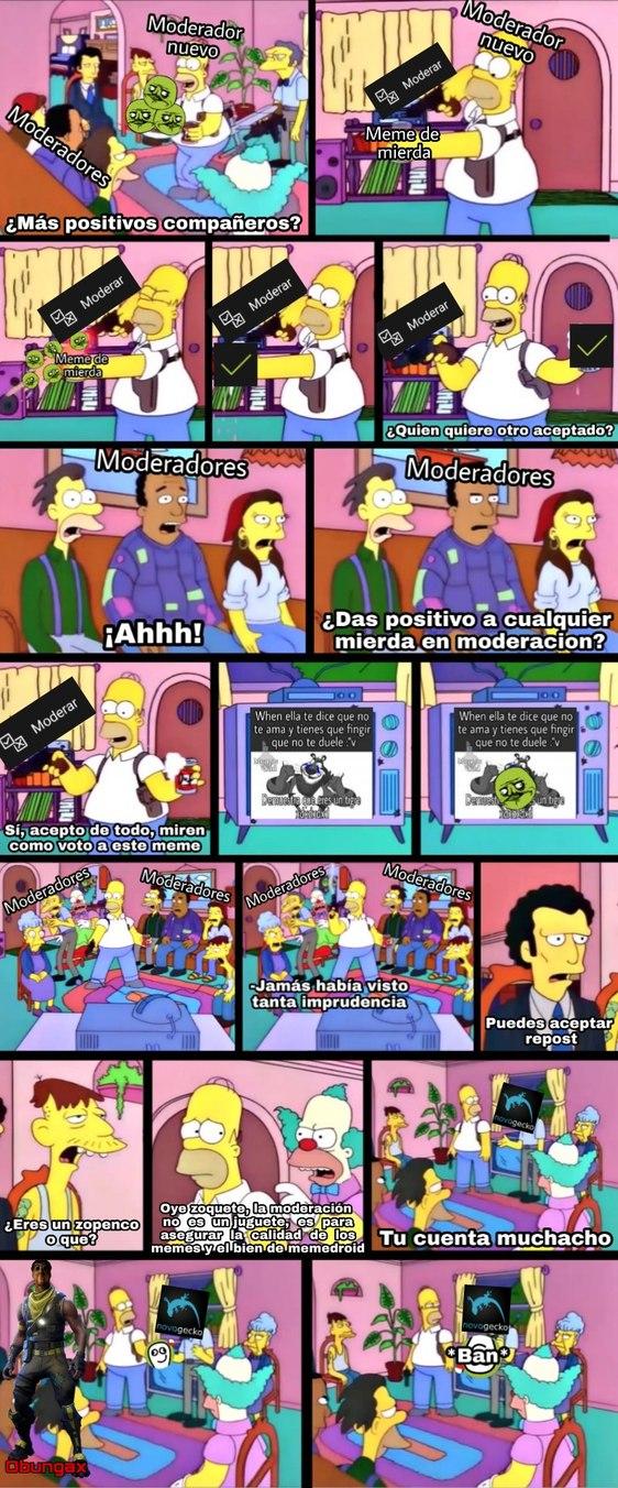 Si novagecko baneara a los malos moderadores - meme