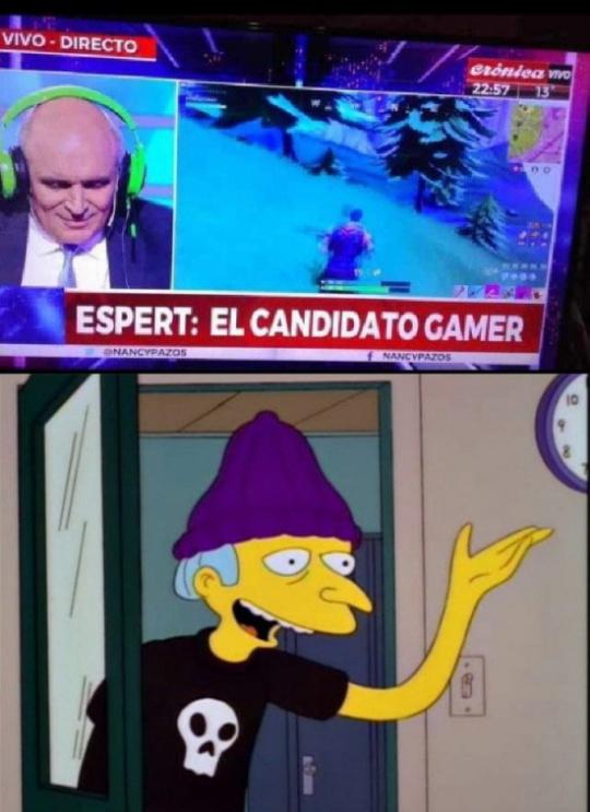 VIEJOS GAMERS - meme