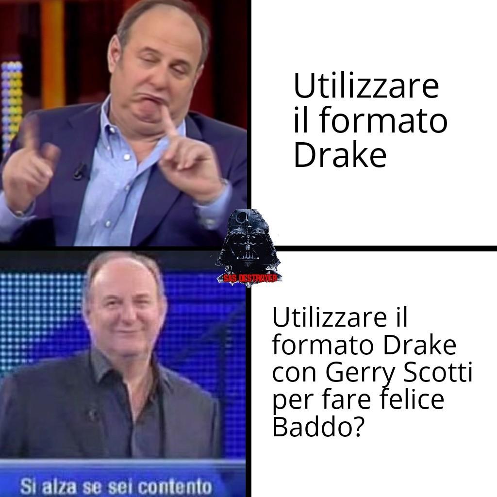 Evviva Gerry Scotti!! (Sono tornato) - meme