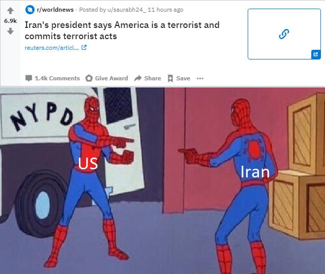 Iran pulled a rl 'no u' - meme