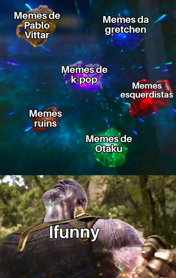 Sinto vergonha - meme