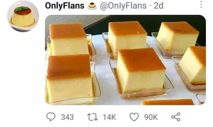 OnlyFlans Chad - meme