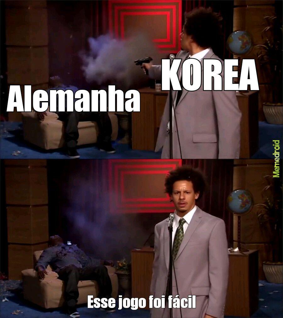 ALEMANHA E KOREA - meme
